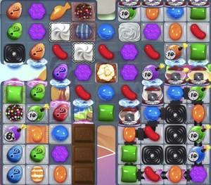 Candy Crush level 1288