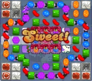 Candy Crush level 1321