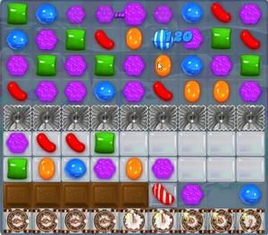 Candy Crush level 1366