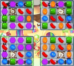 Candy Crush level 1367