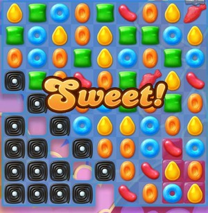 Candy Crush Jelly Level 50