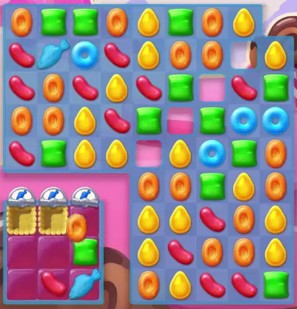 Candy Crush Jelly Level 61