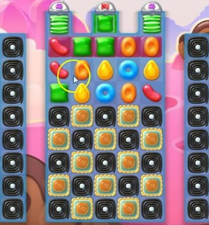 Candy Crush Jelly Level 62