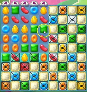 Candy Crush Jelly Level 92