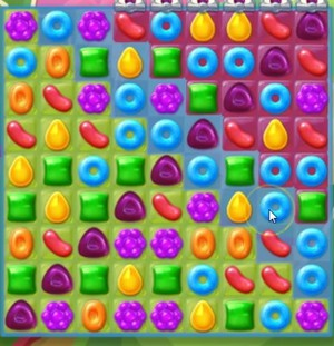 Candy Crush Jelly Level 95