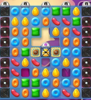 Candy Crush Jelly Level 107