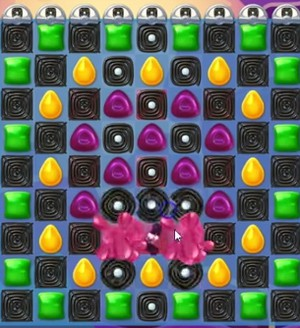 Candy Crush Jelly Level 110