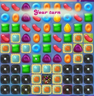 Candy Crush Jelly Level 120