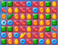 Candy Crush Jelly Level 170