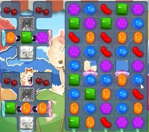 Candy Crush level 1693